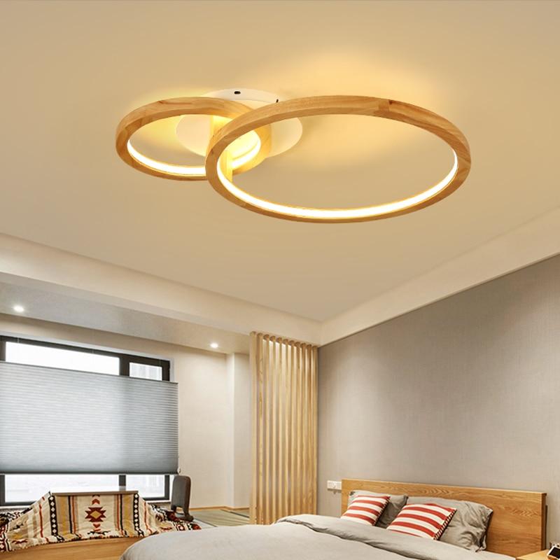 Nórdicos de luz de techo LED moderna sala dormitorio lámpara personalidad creativa redondo led lámpara de techo