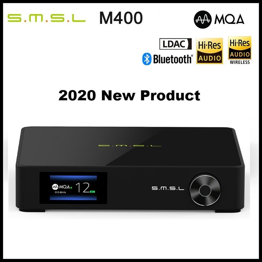 SMSL M400 Flagship DAC AK4499 Full Balanced Buletooth 5.0 DSD512 PCM 768kHz/32bit Decoder USB DAC Support MQA LDAC
