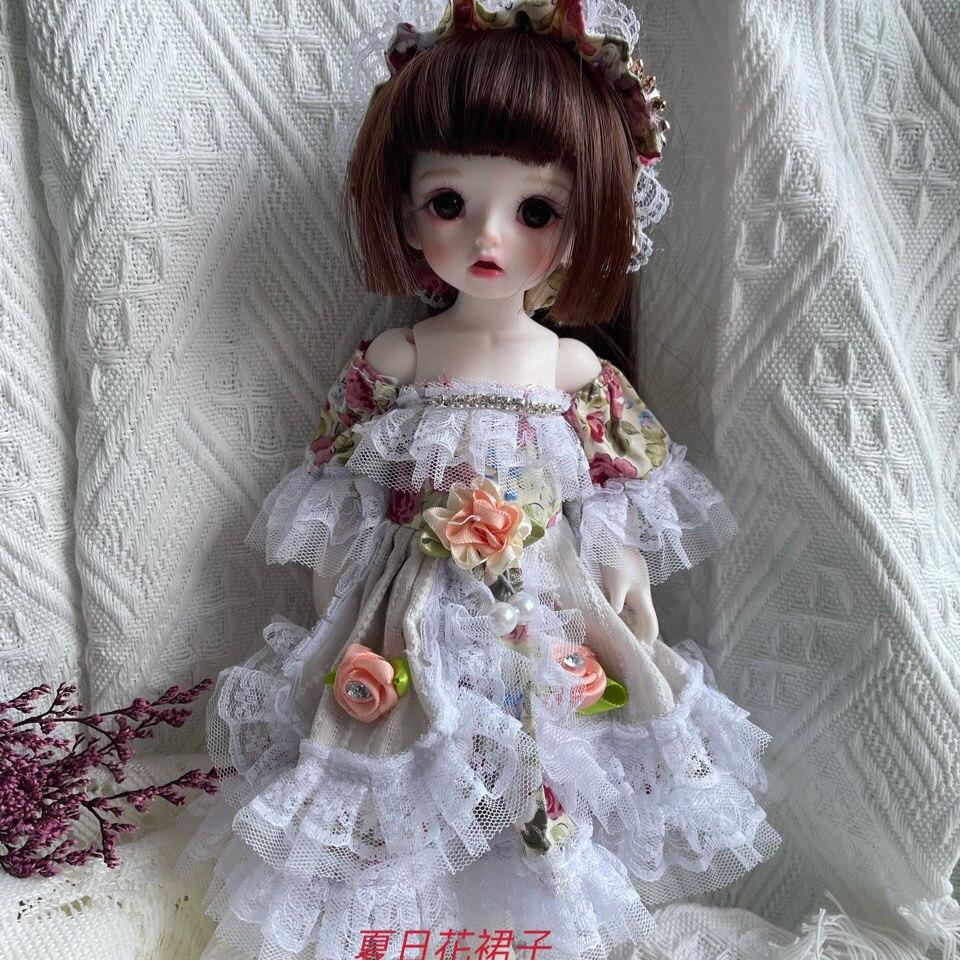 30CM Dolls Fashion Clothes with Shoes Cute Princess Wedding Dress Babi Skirt Accessories Fairyland F