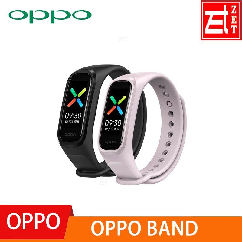 Originale OPPO Banda Intelligente Del Braccialetto 2 di Colore AMOLED Schermo Smartband Per Il Fitness Traker Bluetooth di Sport Impermeabile Banda Intelligente