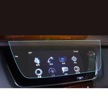Lsrtw2017 lcd GPS para coche pantalla táctil de navegación película protectora de vidrio templado para cadillac xt5 xt6 2016, 2017, 2018, 2019, 2020