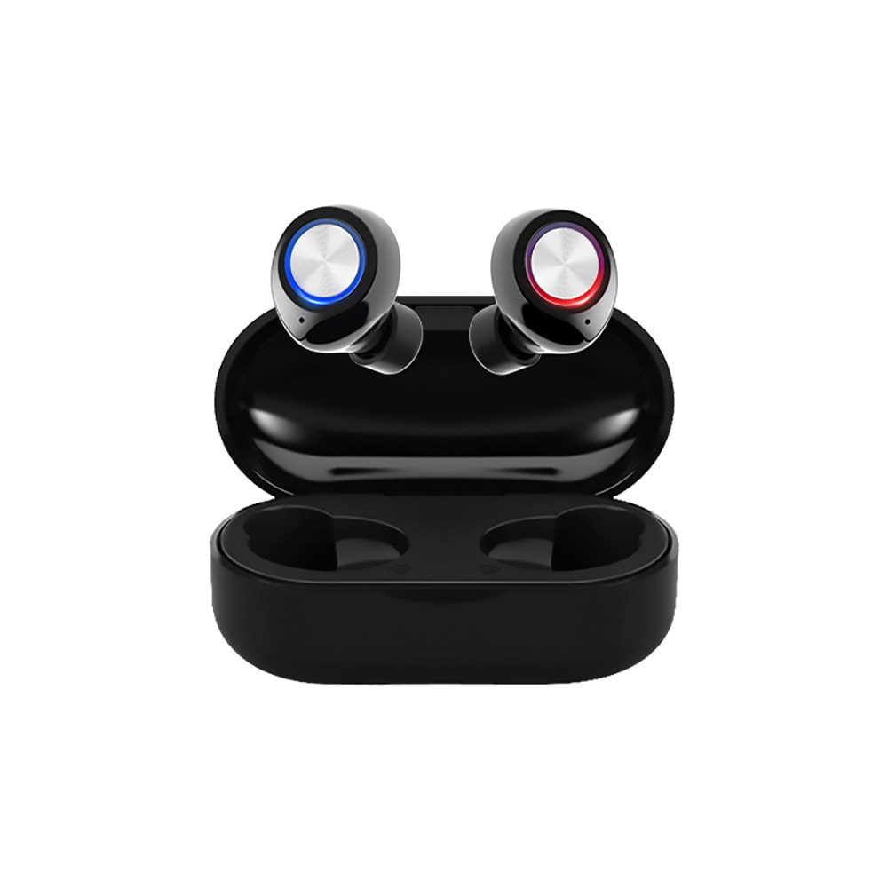 Tw60 tws bluetooth 5.0 fones de ouvido sem fio 3d estéreo alta fidelidade esportes à prova dwireless água sem fio fone com microfone