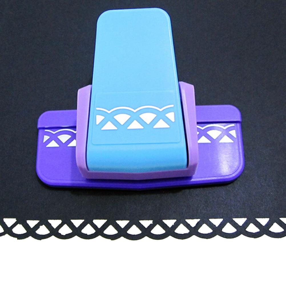New Fancy Border Punch S Flower Design Embossing Scrapbooking Handmade Edge Device DIY Paper Cutter Craft Gift