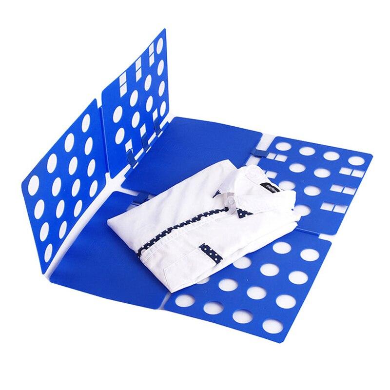 1PC Multifuncitonal Convenient Clothes Folding Board Save Time Magic Fast Speed T-Shirt Clothes Fold Organize Save Space hot clothes folding board fast cloth folder plastic t shirts jumper organizer save time quick convenient stacking laundry fold board
