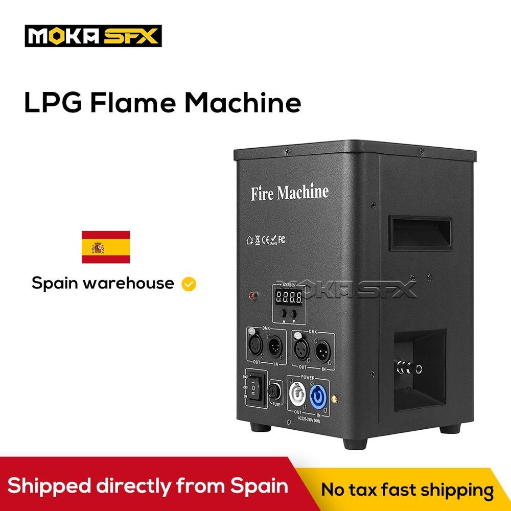 غاز البترول المسال آلات النار الشحن من اسبانيا موكا Sfx المرحلة تأثير لهب العارض للمرحلة في الهواء الطلق الحدث هالوين أجهزة العرض