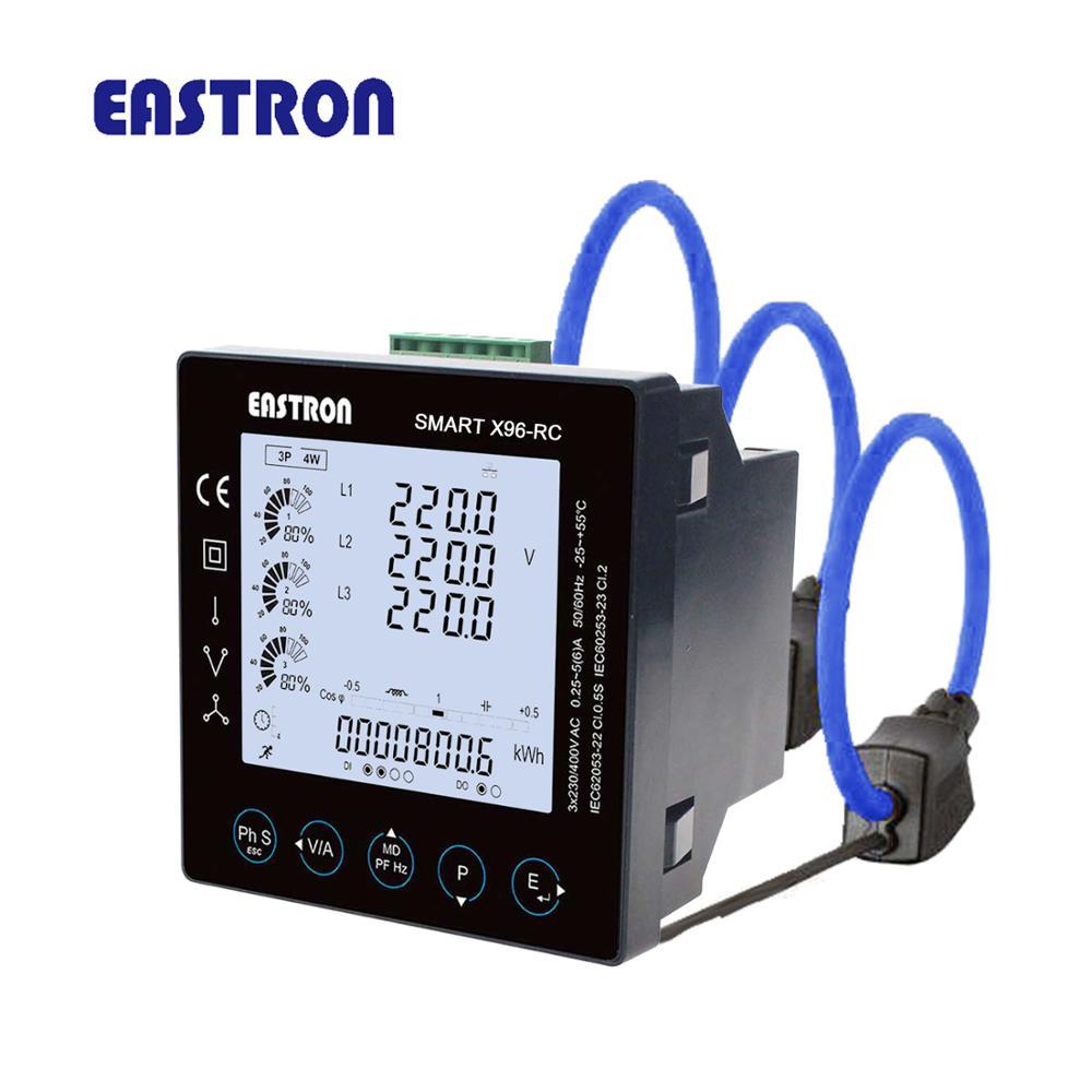 SMARTX96-RC + 3pcsESCT-RC100 Drei Phase Drei Draht Rogowski-spule Panel Meter