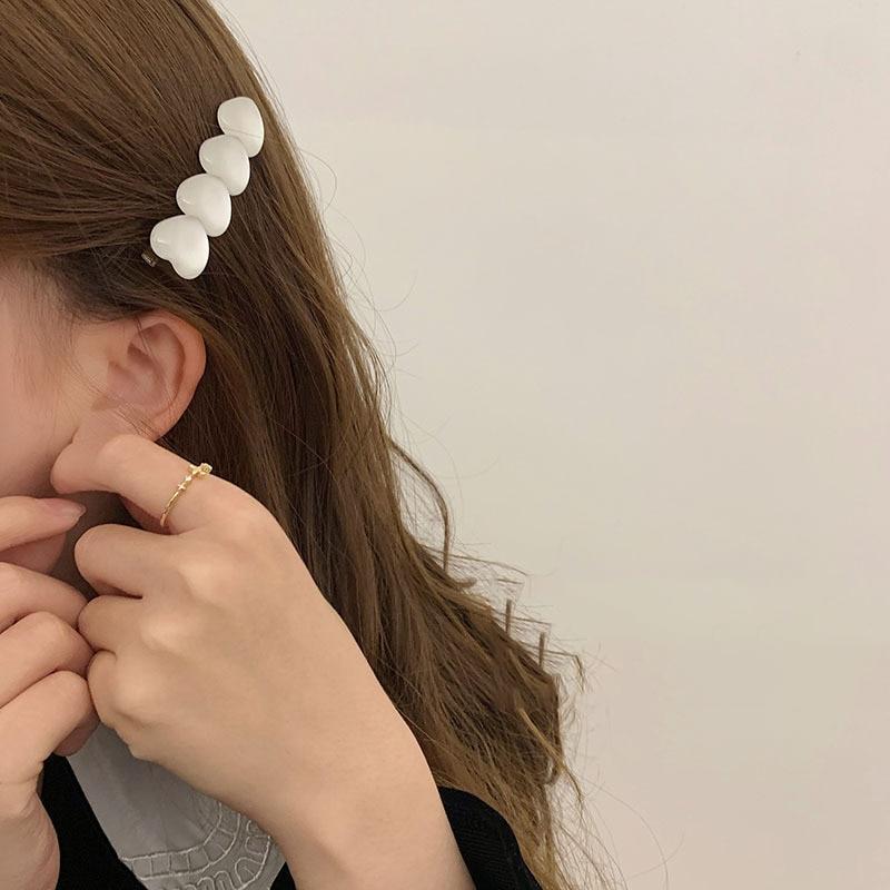 Handmade Hair Clips Pin For Women Fashion Geometric Barrettes Headwear Girls Sweet Top Clip Accessorie Candy Color Hairpin yuki araki sew sweet handmade clothes for girls