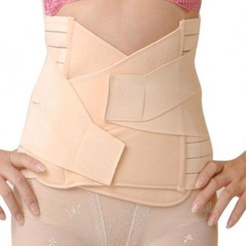 Slimming Belt Womens Bodys Waist Shapers Girdle Adjustable Tummy Tuck Fat Slim