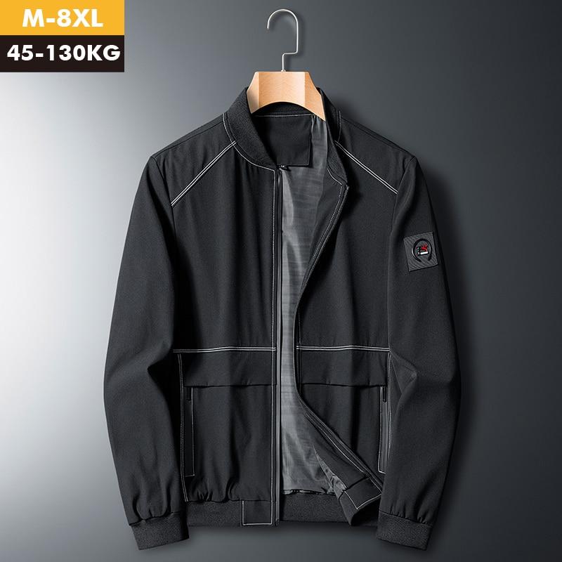 Men Bomber Jacket Slim Military Aurumn Winter Men Outerwear Casual Long Sleeve Jackes and Coats Mens