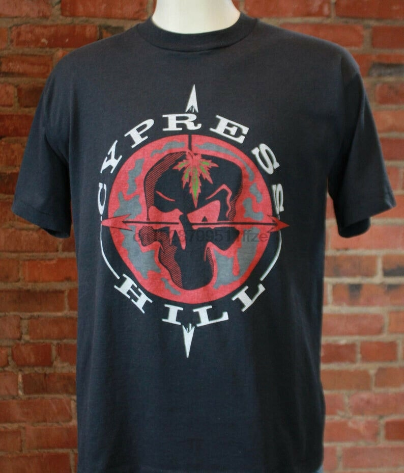 Camiseta concierto de Cypress Hill Hip Hop House Of Pain Rage contra la máquina