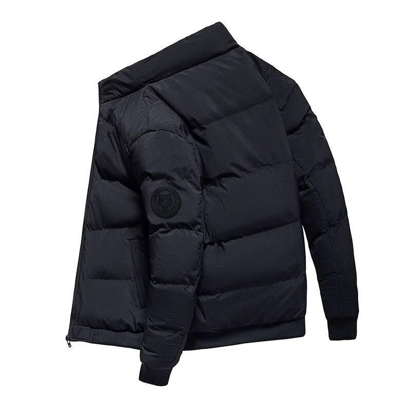 2020 New Autumn Winter Cotton Coat Men'S Jacket Men'S Cotton Jacket young fashionJacket Velvet Clothes Baseball Jacket