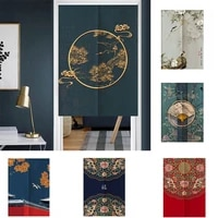 kitchen bedroom partition door curtain half panel curtain living room blackout curtain home decoration