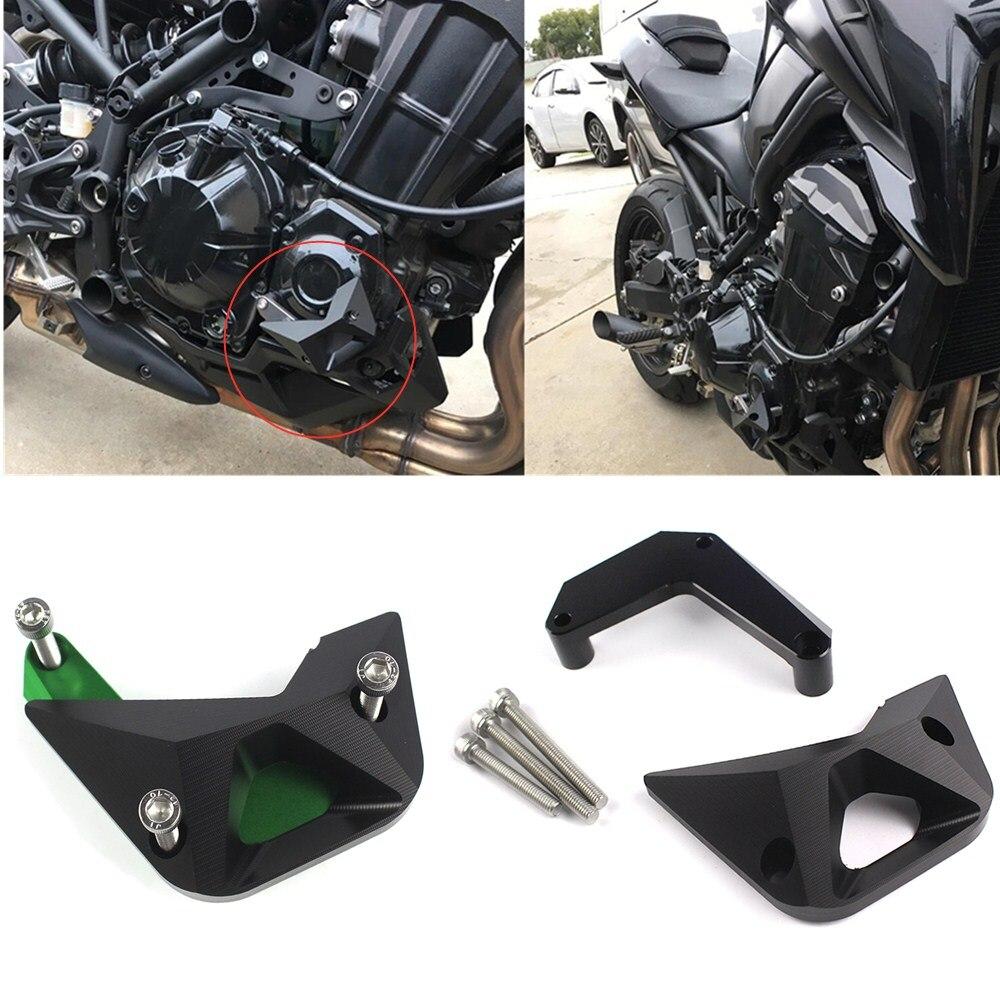 La tapa protectora para motor guardia deslizadores de marco de Crash Pad para Kawasaki Z900 Z 900 2016-2017 Z1000 2010-2017, 2015 de 2016