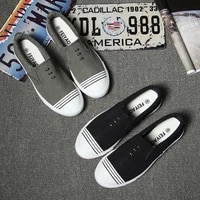 new autumn breathable slip on canvas mens shoes flat casual shoes mens shoes size 39 44