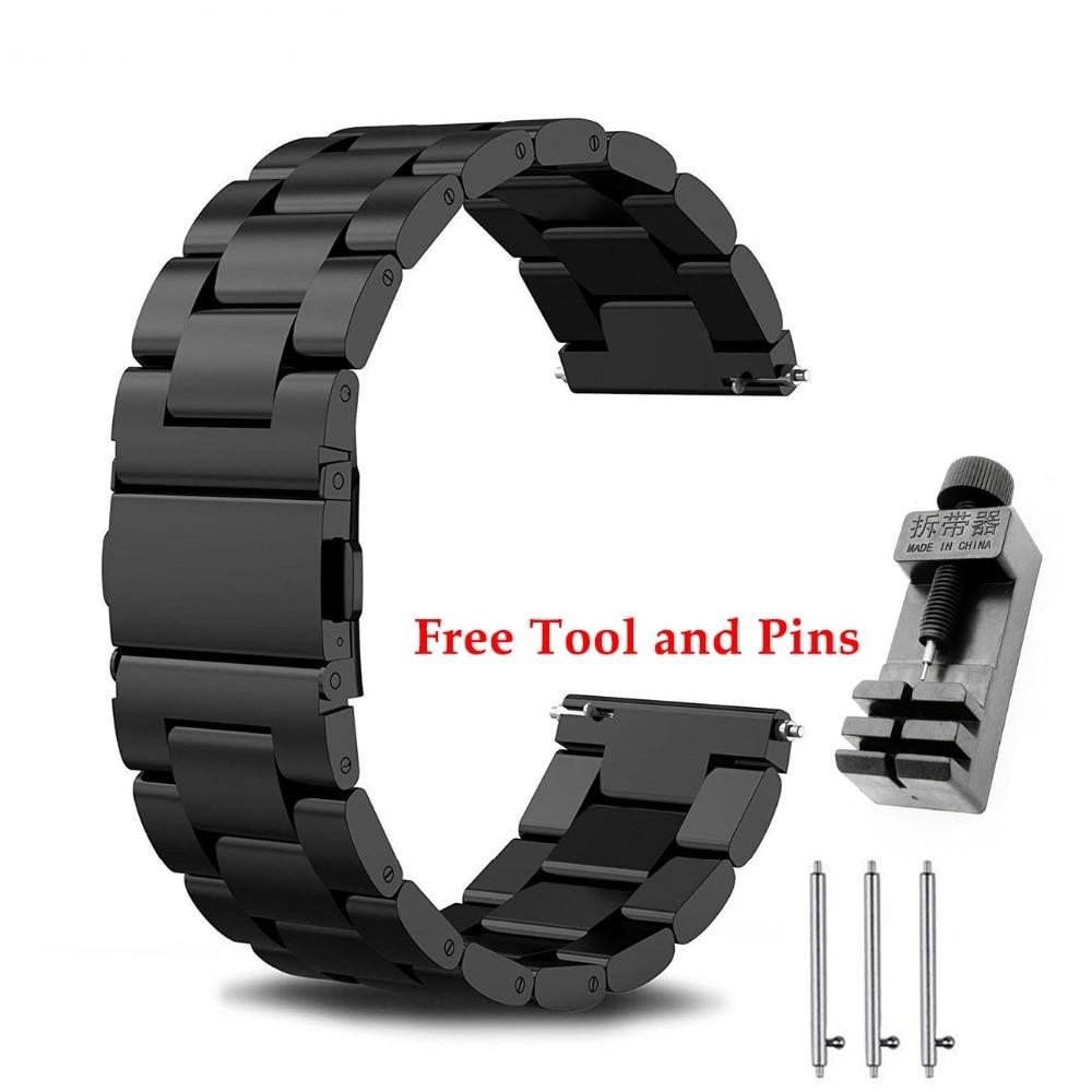 24 мм браслет из нержавеющей стали ремешок браслет для Kospet Hope/Optimus Pro/Brave/ Prime часы телефон мужские часы браслет