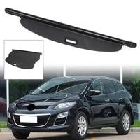 car rear cargo trunk cover security shield shade for mazda cx 7 cx7 2008 2009 2010 2011 2012 2013 2014 2015 2016 black