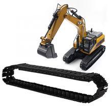 RC Car amortiguador-absorbente chasis Base oruga Correa Base accesorio para HUINA 1580 excavación de piezas