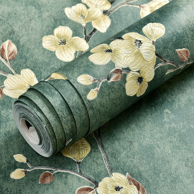 5M*0.53M/roll Self-Adhesive 3D Wallpaper Bedroom Living Room Luxury Wallcovering Tv Background Non-Woven Wall Paper beautiful europe flowers wallpaper self adhesive non woven 3d floral wallpapers roll living room bedroom mural wall paper qz104