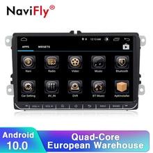 Avrupa depo vergi ücreti Android10 9touch ekran araba multimedya oynatıcı Skoda VWGolf 6 Golf 5 Passat b7 cc b6 koltuk leon