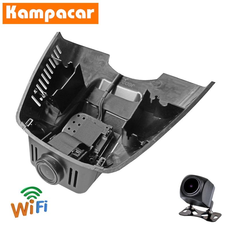 Kampacar dashcam BZ09-D para mercedes benz e classe e200 e220d e260 e350 w204 w207 w212 clk x204 wifi carro dvr câmera traço cam
