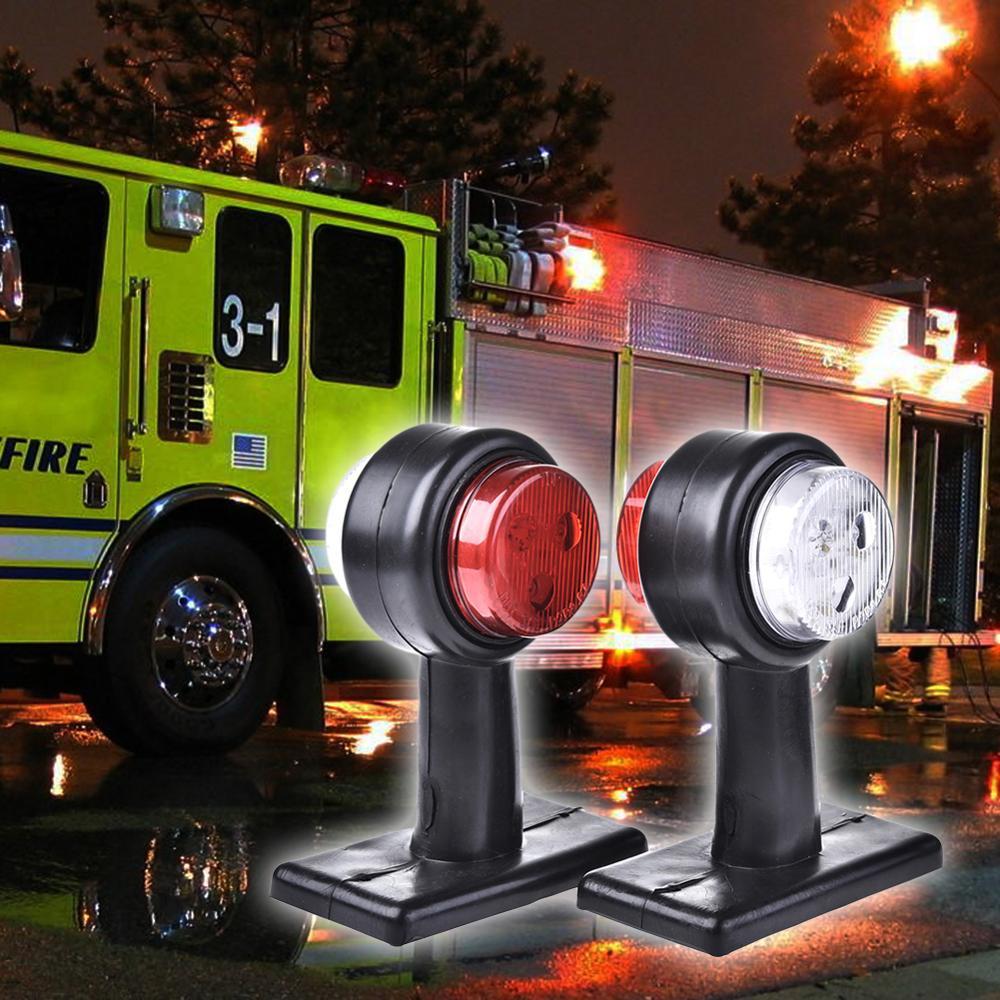 Accesorios para coches calientes 10-30V luces LED 12 LEDs luces de señalización laterales luces de advertencia para camioneta venta al por mayor entrega rápida