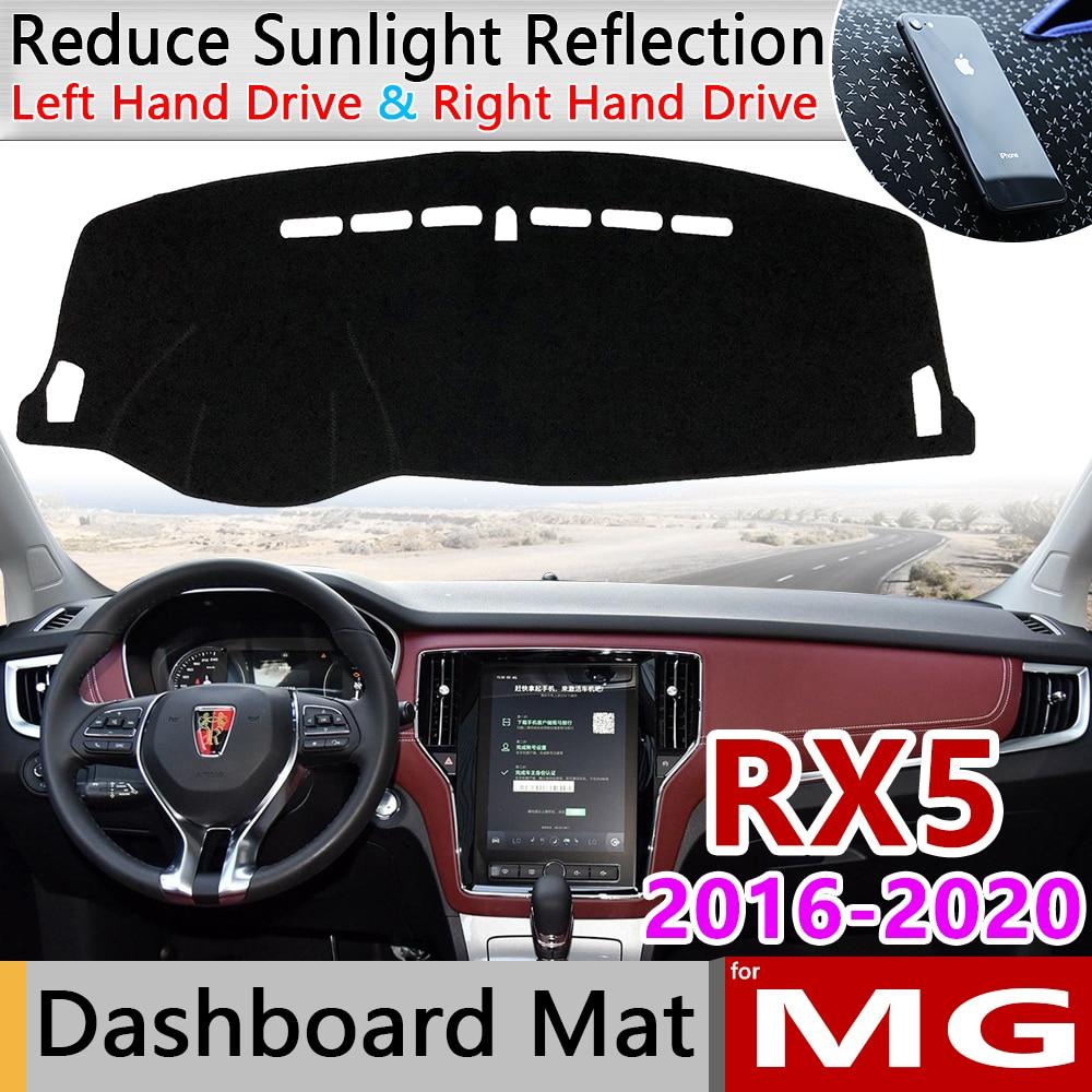 Para MG RX5 2016 2017 2018 2019 2020 Roewe Anti-Slip Mat Pad Cover Dashboard Dashmat Sombrinha Proteger Tapete anti-UV Acessórios