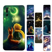 the little prince starry sky phone case soft silicone case for huaweip30lite p30 20pro p40lite p30 capa