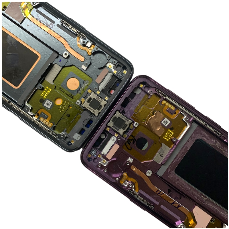 With Frame Original AMOLED  for Samsung Galaxy S9  G960A G960U G960F G960V LCD with dots or line display touch screen assembly enlarge