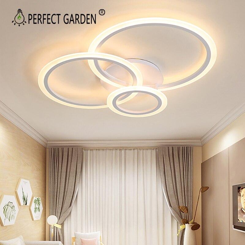 الحد الأدنى سقف ليد حديث أضواء لغرفة المعيشة غرفة الطعام غرفة نوم مصابيح Led مستديرة حلقة مصباح Led تركيبة إضاءة السقف