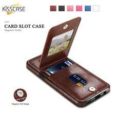 Sexy Kisscase ретро PU кожаный бумажник чехол для Samsung Galaxy S9 S9 Plus S8 S8 Plus Слот для карты плотная назад случаи для Samsung S7 S6 Edge For Samsung S9 S9 Plus S8 S8 Plus S7 S7 Edge S6 S6 Edge