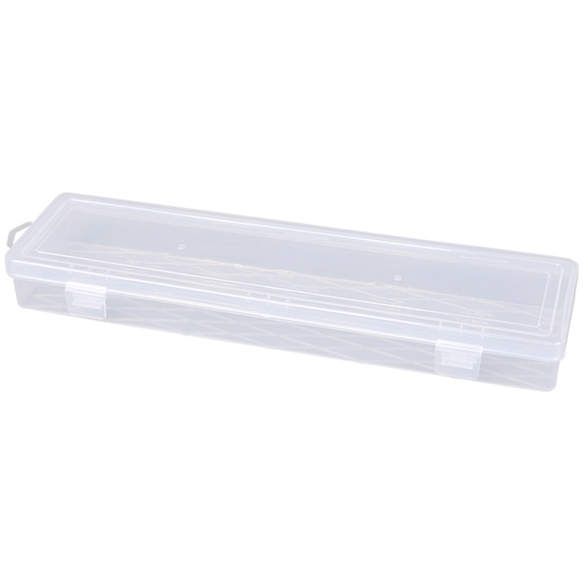 Новый 14-дюймовый длинная полоса прозрачный Портативный ящик для ювелирных инструментов контейнер кольцо электронный Запчасти винтовые ша...