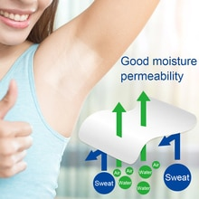20pcs Antiperspirant Underarm Dress Sticker Pads Armpits Sweat Pads Summer Deodorant Patch Men Women