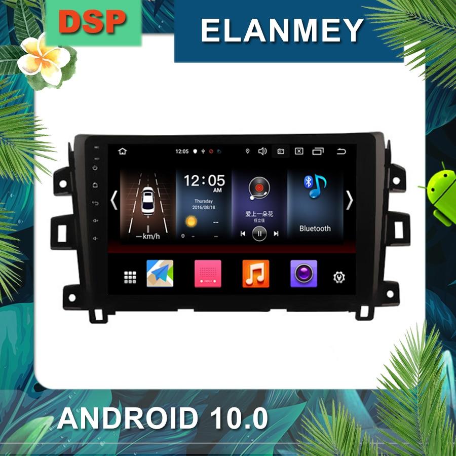 En son Android 10.0 araba radyo NISSAN NAVARA için NP300 LHD 2016 araba multimedya navigasyon stereo DSP ses kafa ünitesi araba GPS