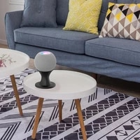 Support de montage pour assistant vocal a domicile  support de bureau pour HomePod Mini haut-parleur intelligent 35EA