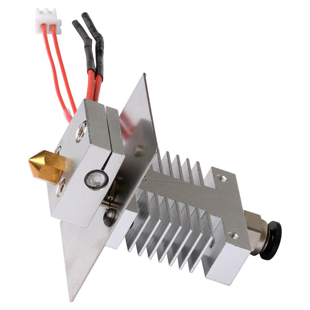 Geeetech 1 в 1 из Hotend комплект для A10/A20/A30/A30 Pro 3d принтер Избегайте засорения 1,75 мм нити 0,4 мм Сопла Экструдер