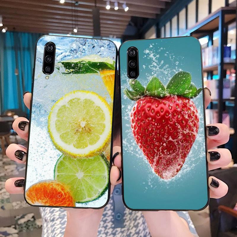 Fruta limón fresa suave silicona TPU teléfono cubierta para Xiaomi Mi10 10Pro 10 lite Mi9 9SE 8SE pocofone F1 Mi8 Lite
