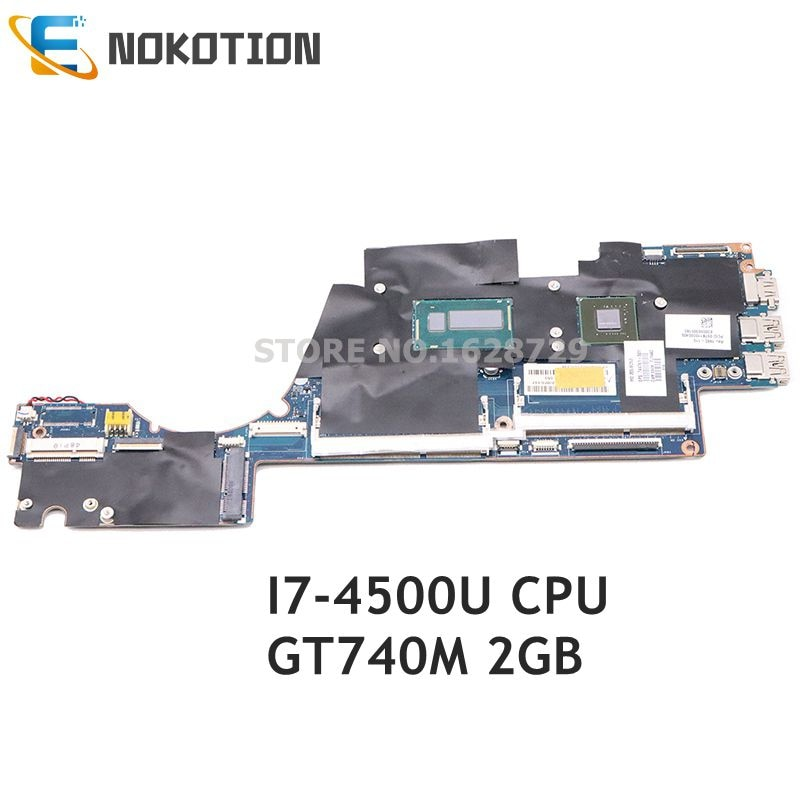 NOKOTION 727527-601 727527-001 ل HP Sleekbook الحسد 14 14-K اللوحة المحمول VGU00 LA-9314P I7-4500U CPU GT740M 2G
