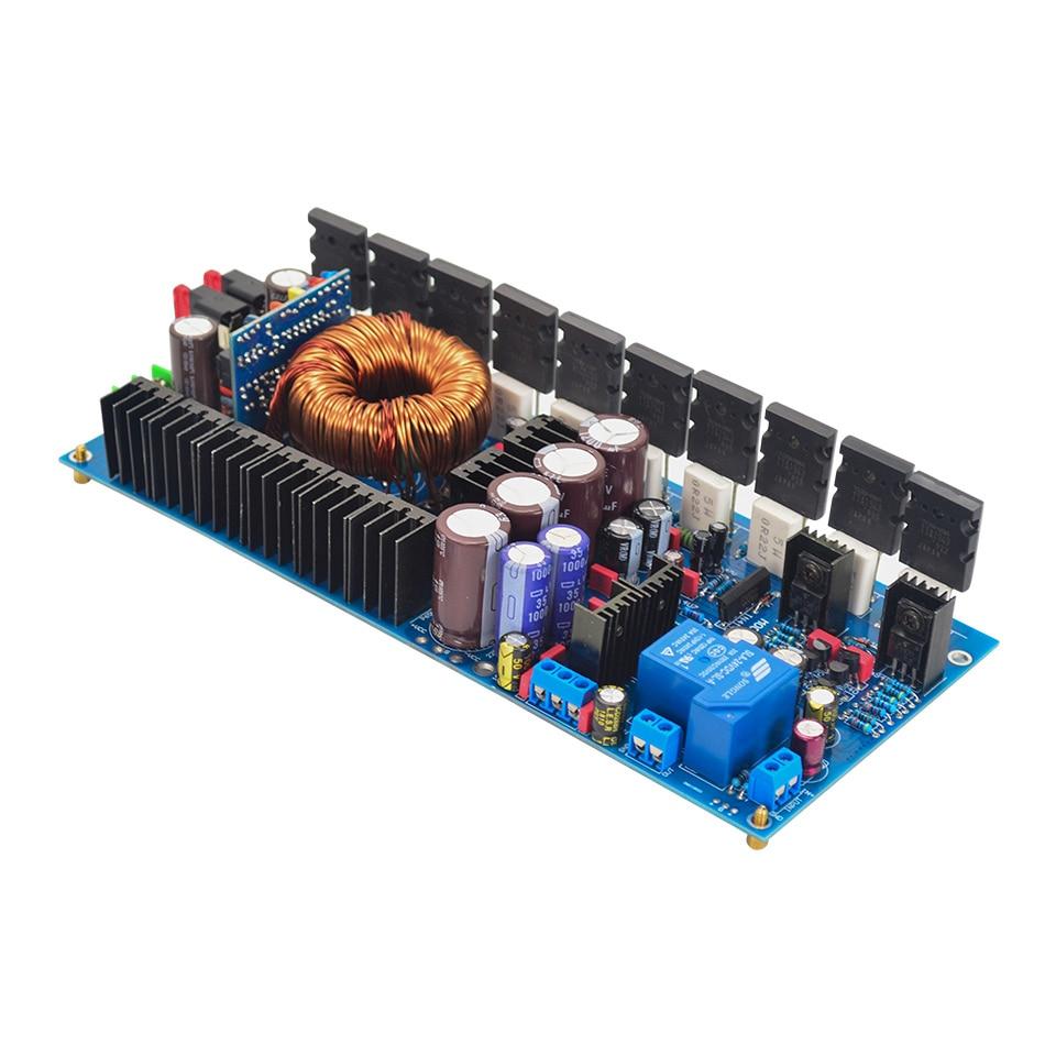 Tta1943 ttc5200 mono canal amplificadores de alta fidelidade carro amplificador alto-falante 500 w amplificador potência placa áudio