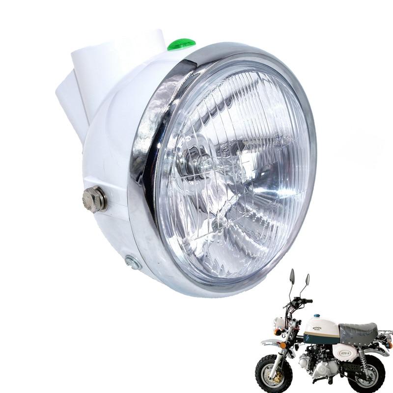 1 قطعة المنارة دراجة نارية كشافات المصباح صالح ل Z50 قليلا قرد دراجة نارية صغيرة