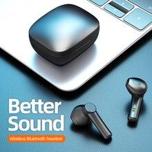 LB-8 TWS Earphones HIFI Stereo Wireless 5.0 Bluetooth Headphones HD Mic Earbuds Touch Control Waterp