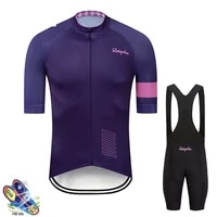 2020 raudax cycling set man cycling jersey short sleeve bicycle cycling clothing kit mtb bike wear triathlon maillot ciclismo
