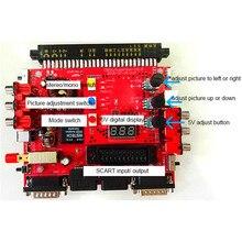 Pour SNK V2.0 Super Gun JAMMA CBOX carte de convertisseur en Joypad et Saturn manette pour carte mère de carte de jeu darcade avec coque