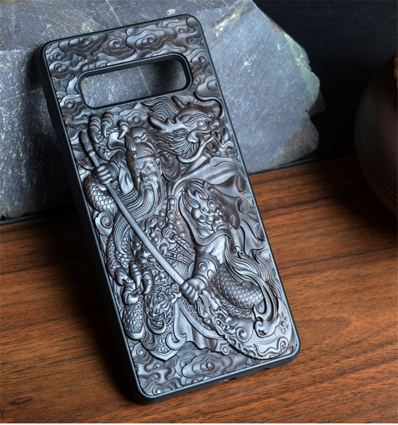 3D Carved Wood Case for Samsung Galaxy Note 20 plus S21 Case Relief Soft TPU silicone cover for Galaxy S20 S2 Ultra Note 20 Case