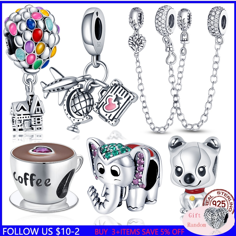 CODEDOG 100% Real 925 Sterling Silver Pink Enamel Lotus Charms Beads Fit Original Pandora Bracelet For Women Jewelry Making