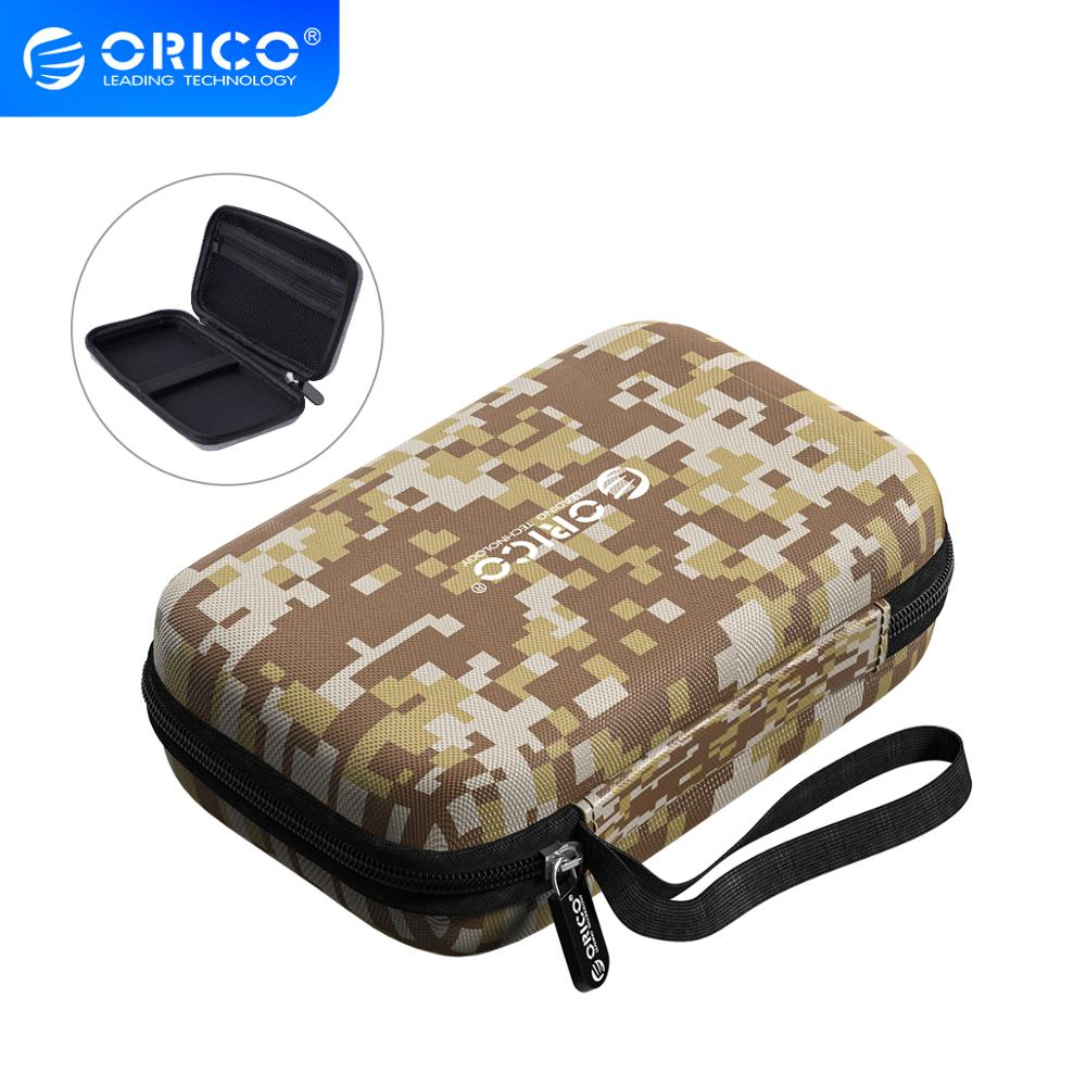 ORICO Hard Case Bag Power Bank for 2.5 Drive U-Disk USB Cable External Storage Carrying SSD HDD box