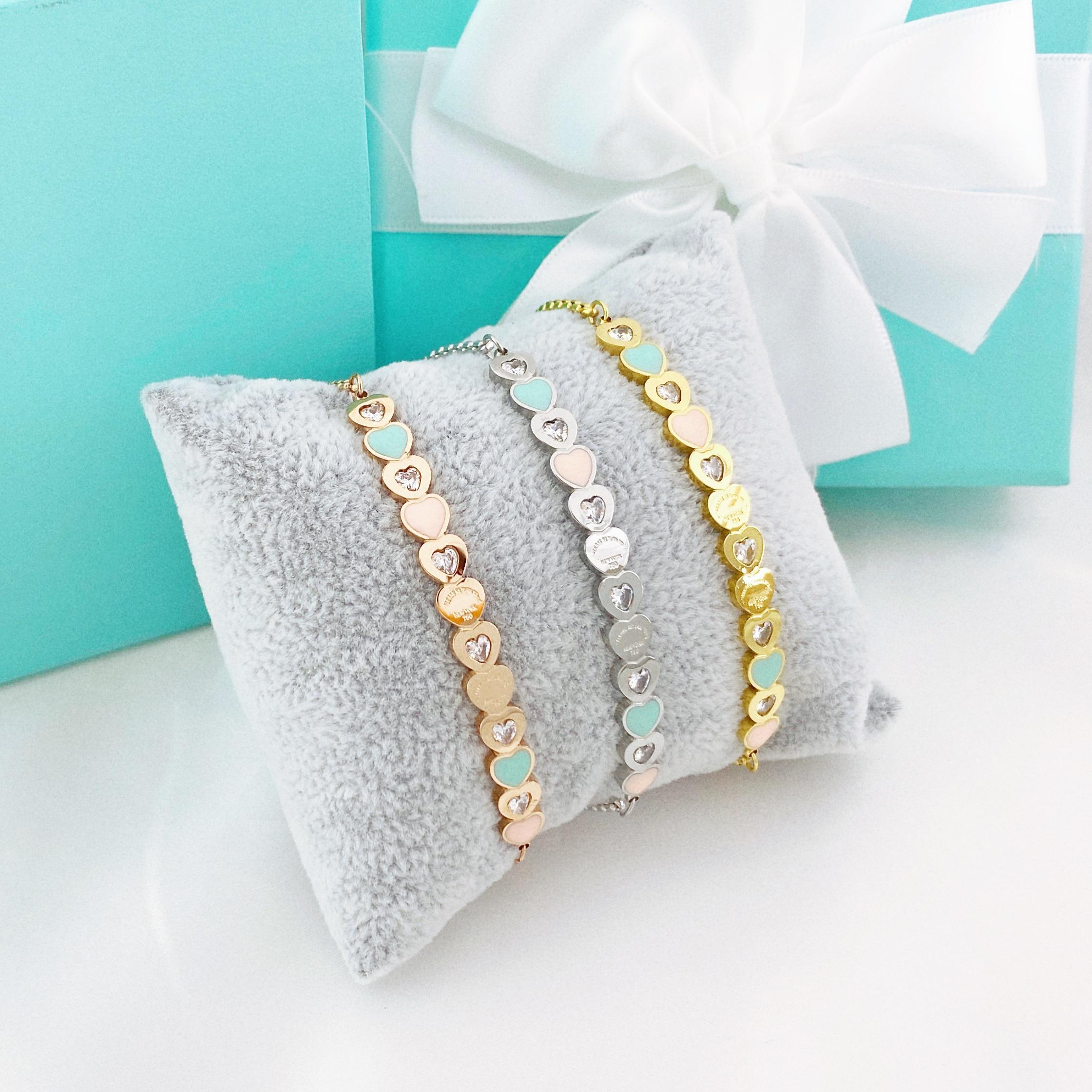 Регулируемый браслет, браслет для женщин, очаровательный, ползунок, блестящий, CZ, розовое золото, ювелирное изделие, Pulseira Feminia, оптовая прода...