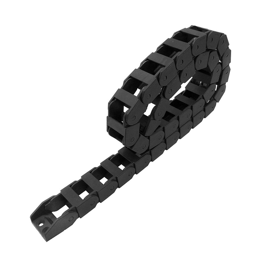 JFLO-سلسلة نقل الكابلات 18 × 25 مللي متر ، 1 متر ، لجهاز التوجيه CNC ، جسر النقل ، بدون فتح ، شحن مجاني