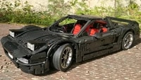 new science and technology building block moc 30093 nsx car sports car parts assembly toy boy birthday gift