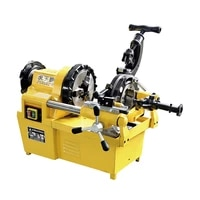 2 inch electric threading machine multifunction light wire machine pipe cutting fire hose light pipe cutting threading equipment