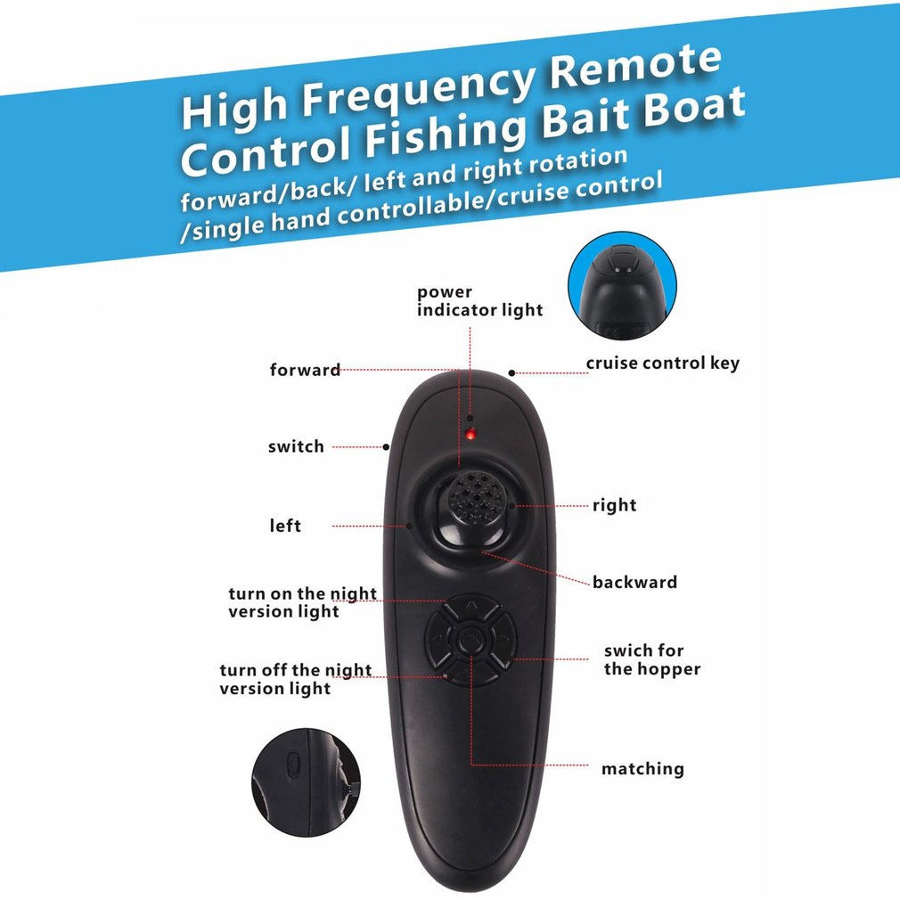 New D16 Smart RC Fishing Tool Bait Boat Boy Toys Dual Motor Fish Finder Ship Boat Remote Control 500m Fishing Boats Speed Boat enlarge